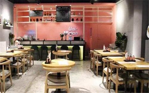 上海uniman摩登饺子馆加盟费多少?开店流程是怎样的?