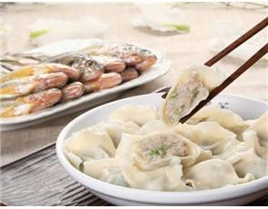 开口笑海鲜饺子_2