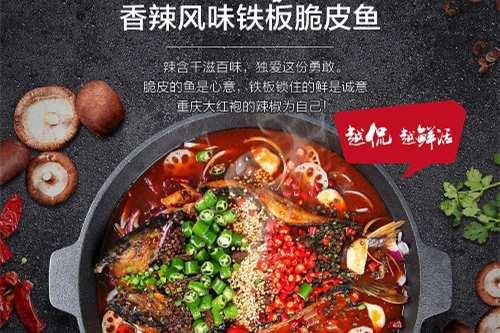 2019年网红烤鱼品牌侃鱼铁板脆皮鱼加盟条件和加盟流程介绍