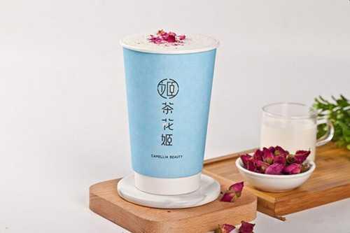 茶花姬奶茶产品