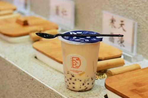 八宝铺奶茶产品
