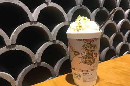 灵饮寺奶茶产品