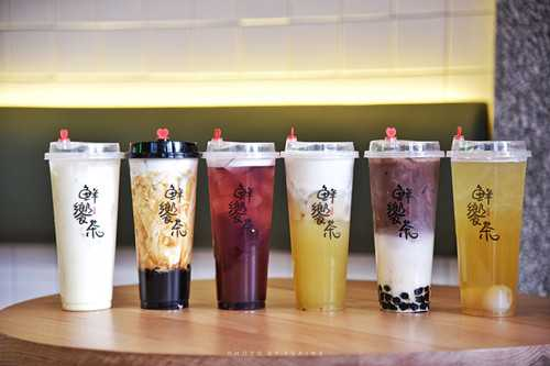 鲜饗茶产品