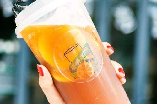 广嘢柠檬茶产品