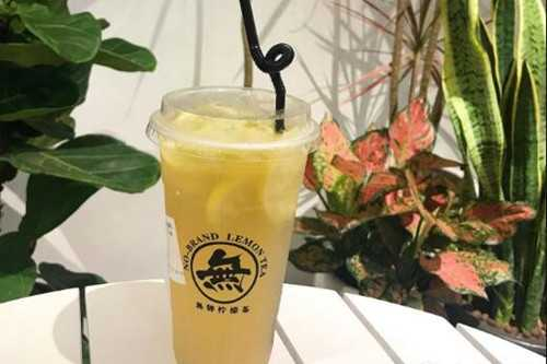 无牌柠檬茶产品