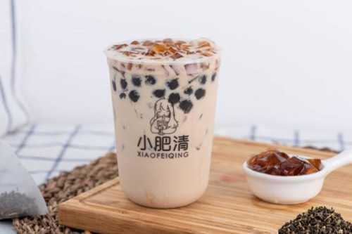 小肥清奶茶产品