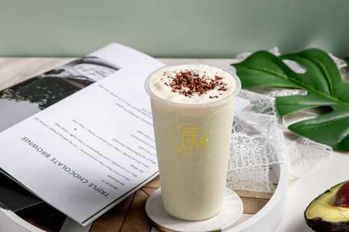 序荟奶茶产品