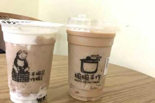 嫲嫲手作奶茶产品