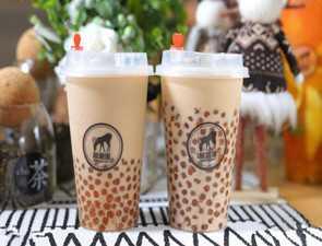 茗鹿溪奶茶_3