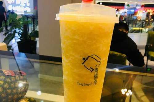青福音奶茶产品