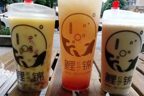 鲤红尚锦·清爽手作茶铺产品图一