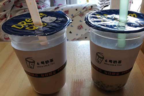 6号奶茶产品图三