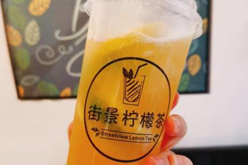 街景柠檬茶产品图二
