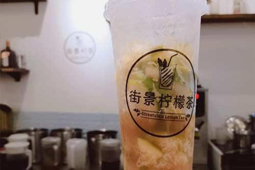 街景柠檬茶产品图三