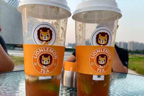 狮子柠檬茶产品图一