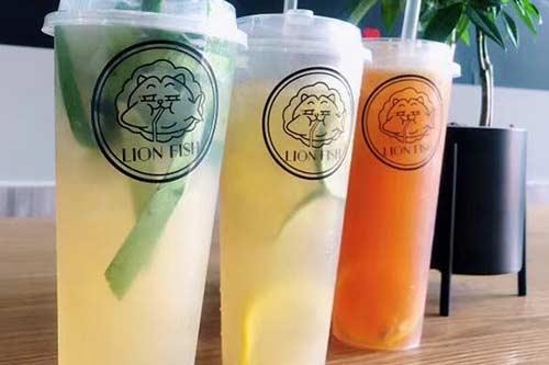 LIONFISH狮子鱼茶饮产品图一