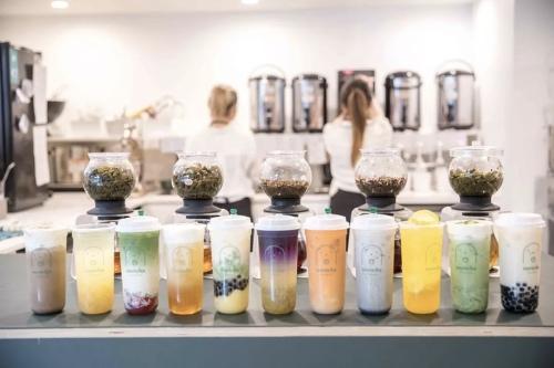 narocha奶茶加盟门店图片一