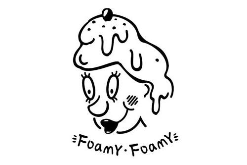 foamy foamy logo图片