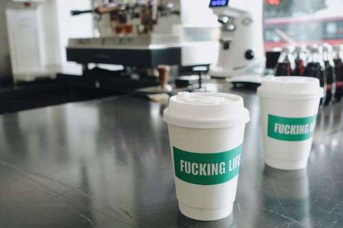 fucking life咖啡店加盟店图片一
